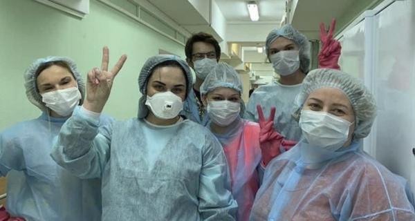 Медики и волонтеры Кинешмы — на передовой борьбы с коронавирусом